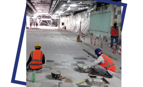 FIT-OUT WORKS FOR SHALLOW UNDERGROUND STATIONS