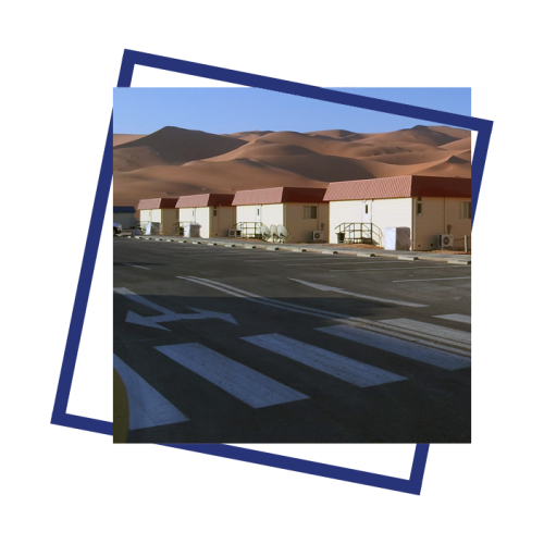 SAUDI ARAMCO CAMP AND OFFICES